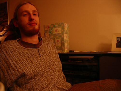 Matt in my dining room.