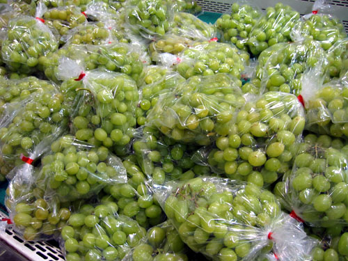 Grapes in Zehrs.