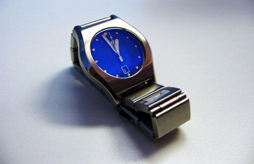 An analog watch from Storm.