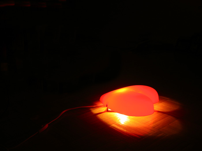 My heart lamp from Ikea.