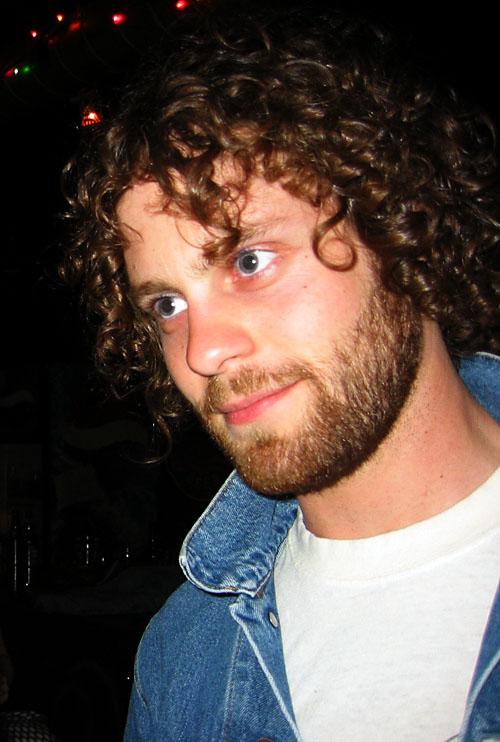 Matt at Sneaky Dee's.
