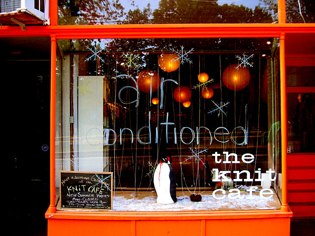The Knit Cafe in Toronto.