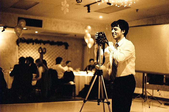 Ali at Sensei Alex's retirement party.