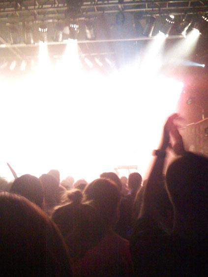 Bright Lights On The Kool Haus Stage