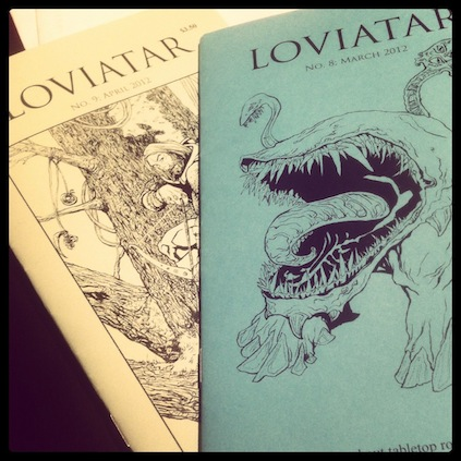 Issues 8 and 9 of Loviatar